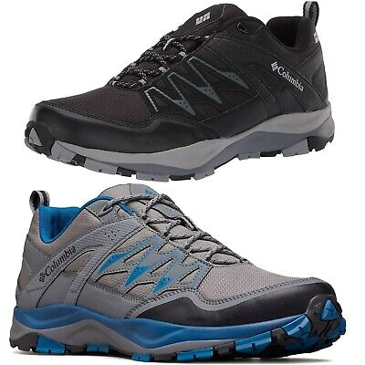 NEW Columbia Men's Wayfinder Outdry Waterproof Lace-Up Hiking Shoes Sneakers