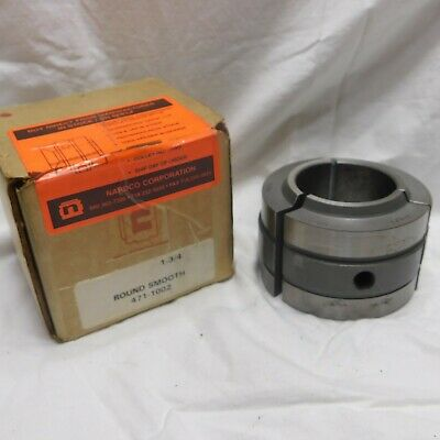 Nardco 1-34 Round Smooth Collet Pad Jaws 471-1002