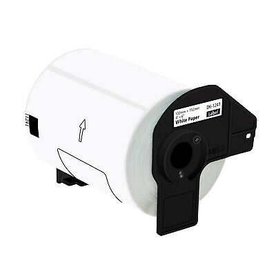 1 Roll Of Dk-1241 Compatible For Brother Shipping Labels Die Cut 4 X 6 Ql-1100