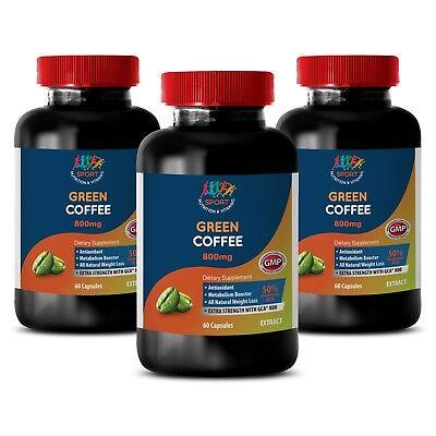 slant loss herbal supplements - GREEN COFFEE GCA 800MG 3B - fat eating pills