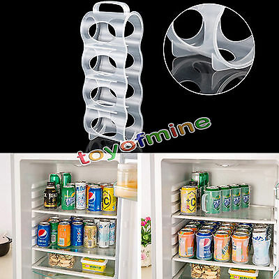 Refrigerator Storage Box Kitchen Accessories Beverage Can Space-saving Cans