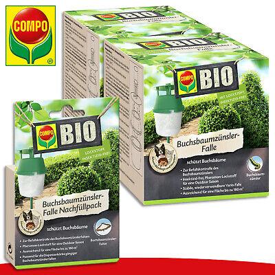 COMPO Organic 2 X Buchsbaumzünsler-falle + 1 X Refill Pack