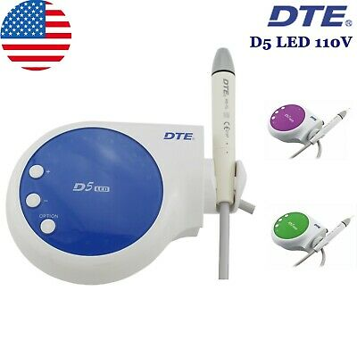 100 Woodpecker Dental Ultrasonic Scaler Piezo Endo Scaling Dte D5 Led Handpiece