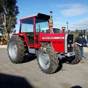 Massey 698 Tractor Carisbrook Central Goldfields Preview