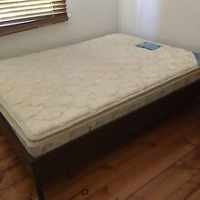 Queen size mattress and frame Plympton Park Marion Area Preview