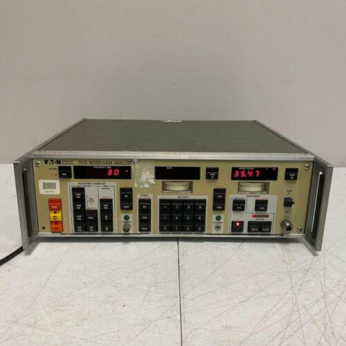 EATON 2075 NOISE-GAIN ANALYZER Advanced Electronics Tested and Working
