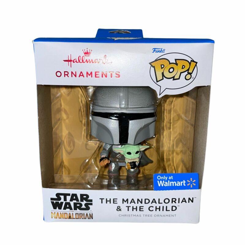 2021 Hallmark Funko Pop Ornament Star Wars The Mandalorian & the Child Walmart