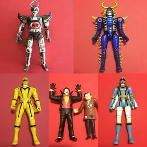Bandai lot Beetleborgs and Power Rangers Action Figure toys