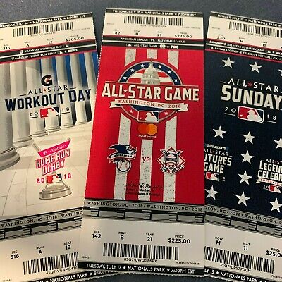2018 MLB All-Star Game, Home Run Derby and Futures/Celebrity Souvenir - Celebrity Stars