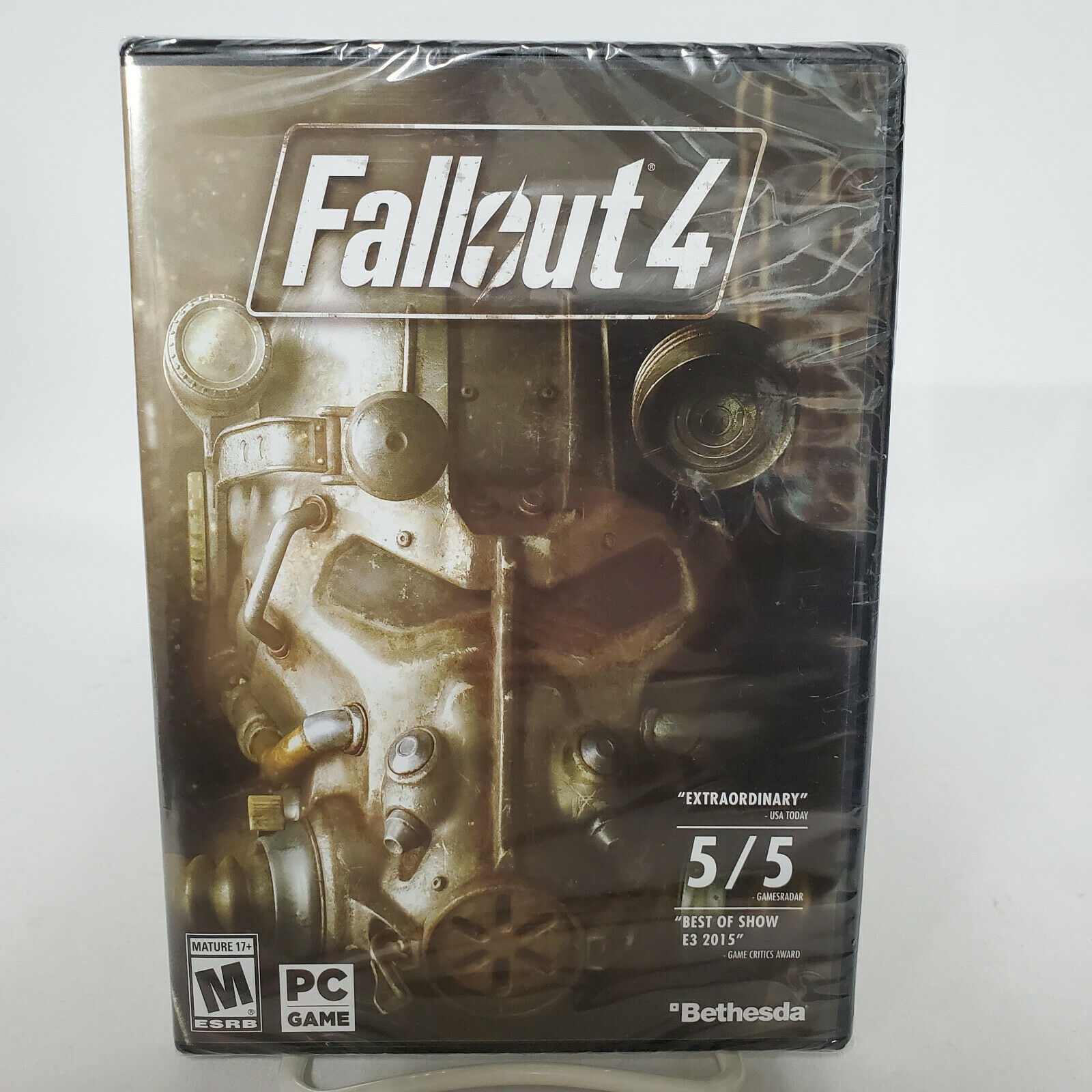 Computer Games - Fallout 4 FOR PC Computer Game NEW Sealed Actual Game, Not a Key