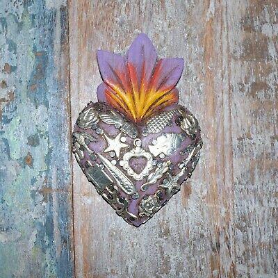 Mexican Milagro Heart Decoration Mini J