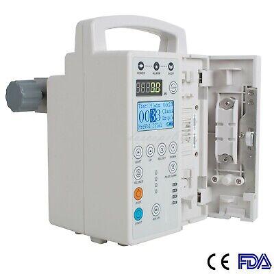 Fda Medical Infusion Pump Iv Fluid Equipment Alarm Hd Lcd Monitor Kvo Icu Ccu