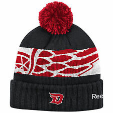 DETROIT RED WINGS 2016 NHL STADIUM SERIES REEBOK CUFFED POM KNIT HAT TOQUE