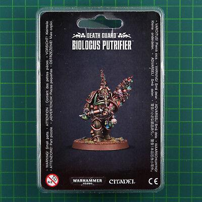 Death Guard Biologus Putrifier 43-24 Warhammer 40K 10431