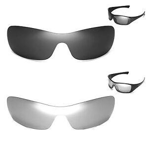 New Walleva Polarized Black + Titanium Lenses For Oakley Antix