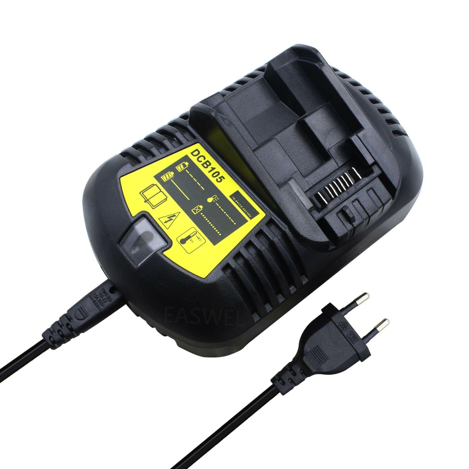 EU 12V 20V Li-Ion Battery Charger for Dewalt DCF880C1-JP DCF