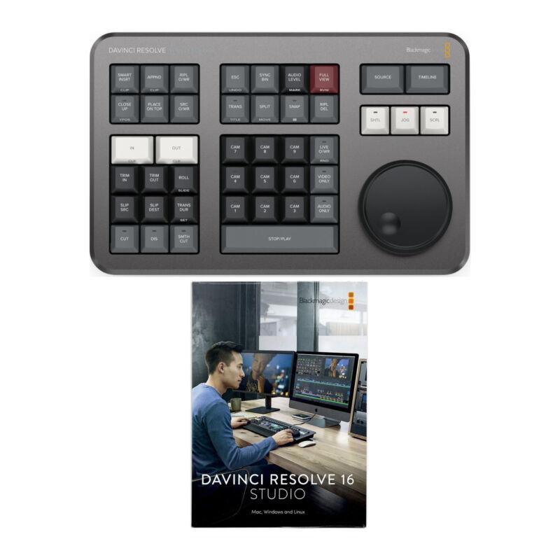 Blackmagic Design DaVinci Resolve Studio License Key Only with Speed Editor