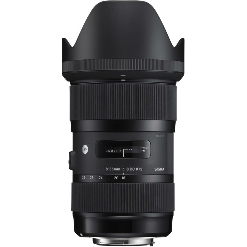Sigma 18-35mm F/1.8 Art DC HSM Lens for Canon EF (Sigma 4 Year USA Warranty)