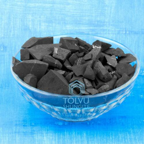 Shungite for Water purification Raw Natural stones from Karelia Tolvu