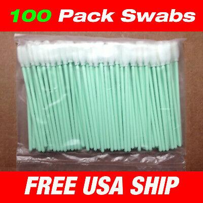 Usa - 100 Pcs Small Foam Cleaning Swabs - Roland Mimaki Jv3 Jv33 Jv5 Sp300 Vp5