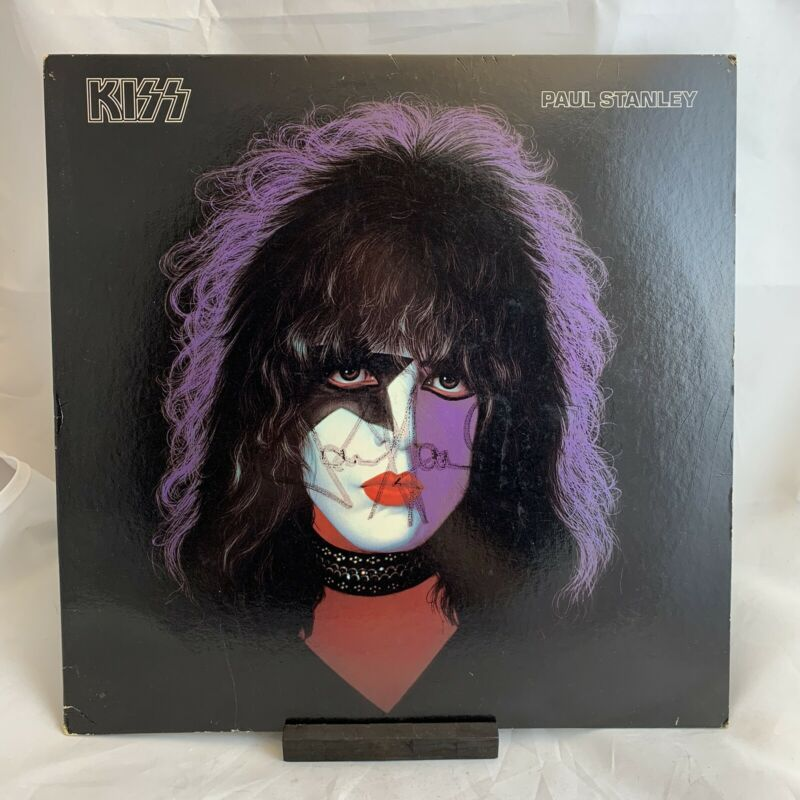 KISS Signed/Autographed 1978 Paul Stanley Solo Casablanca Vinyl LP Play Test VG+