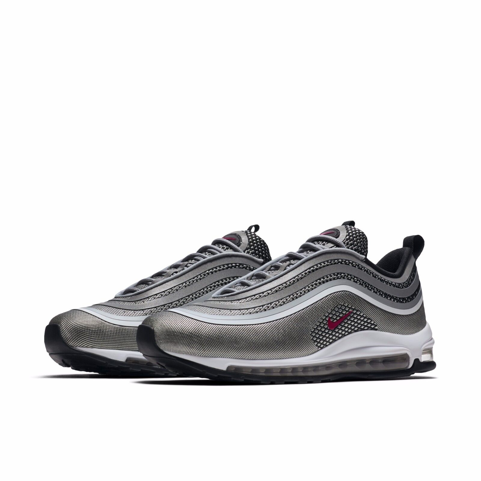 buy popular 946e4 2d57e ... amazon nike mens air max 97 ul 17 ultra metallic silver bullet og  sneakers 918356 003