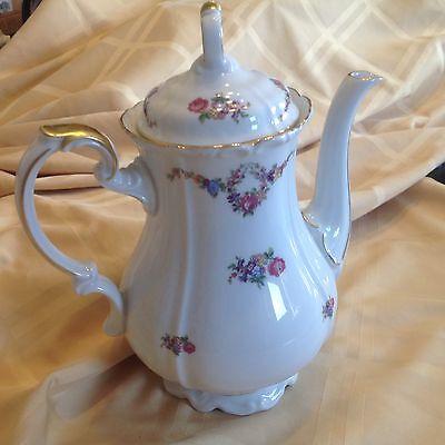 Coffee or Teapot, Edelstein Bovaria Maria Theresia, German #23903 Victorian