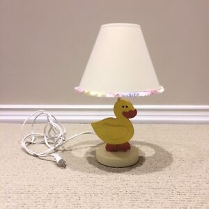 Touch-on Nursery Lamp -perfect for nursery or kids room !