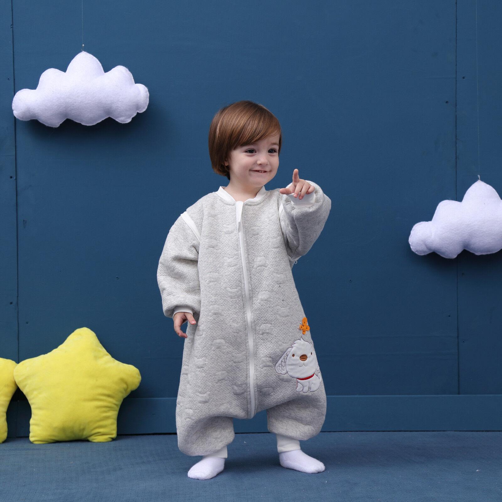 Baby Toddler Kids 100 Cotton Wearable Organic Blanket Sleeping Bag Winter Wrap Ebay