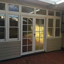 Entry double swing doors glass panes and Windows for sale Darling Heights Toowoomba City Preview