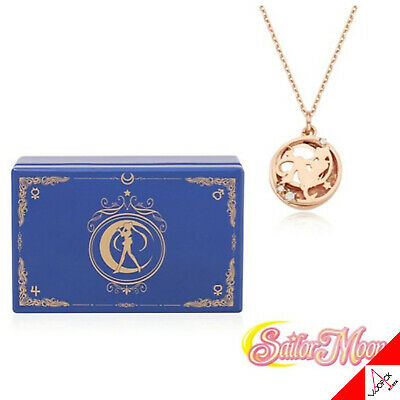 OST X SAILOR MOON Music Box Orgel & Silver Necklace Set Limited - Authentic
