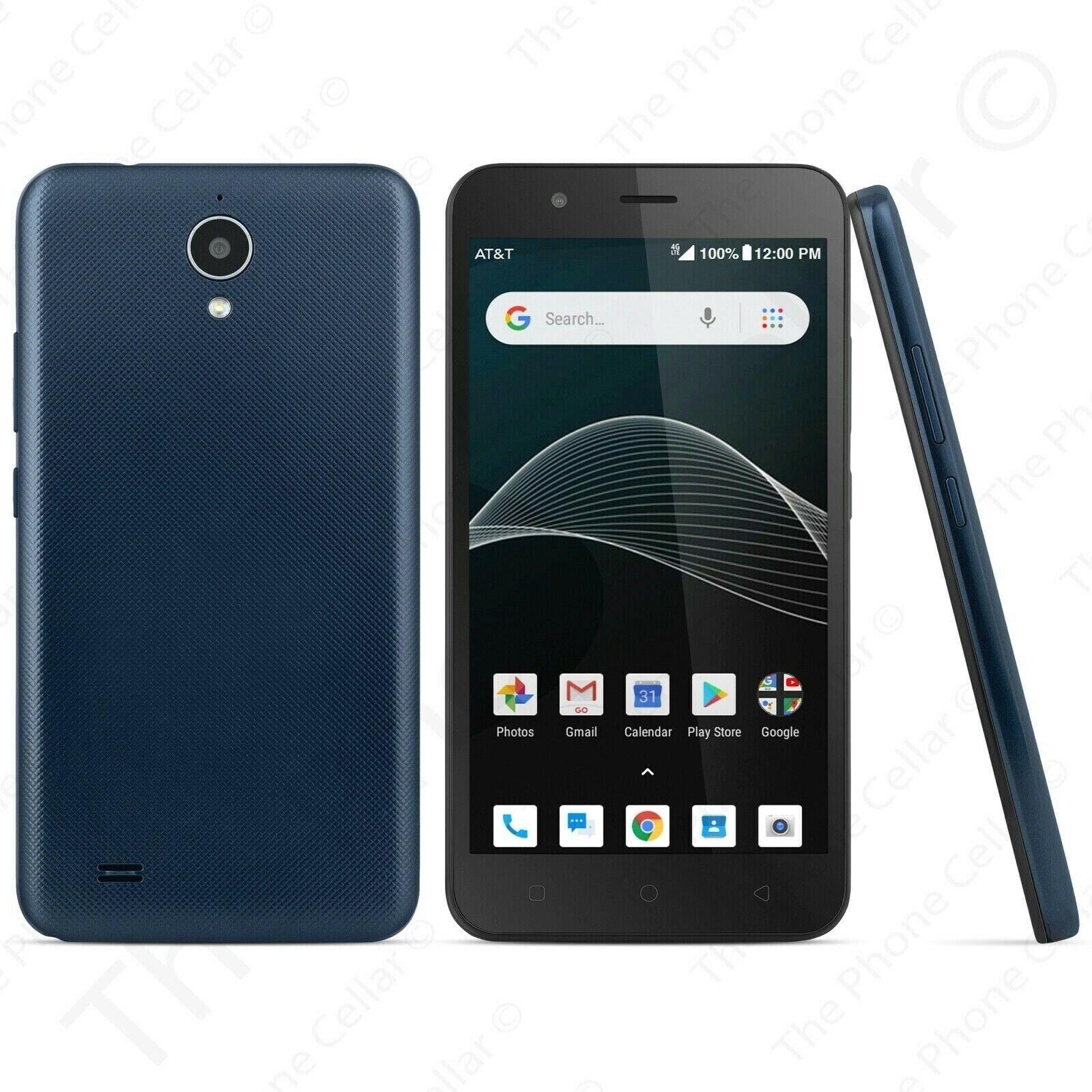 AXIA AT&T Prepaid-With 16GB Memory Prepaid Cell Phone - Dark