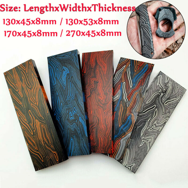 G10 Composite Material Damascus Knife Handle Scale DIY knives Slab Making Blanks