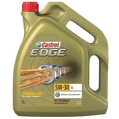 5 L LITER CASTROL EDGE TITANIUM FST™ 5W-30 LL MOTOR-ÖL MOTOREN-ÖL 31786061