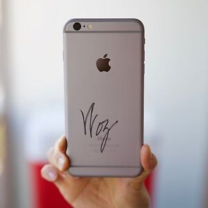 iPhone 6 Plus 128GB Signed by Apple Co-Founder Steve Wozniak !!!! Waterloo Inner Sydney Preview
