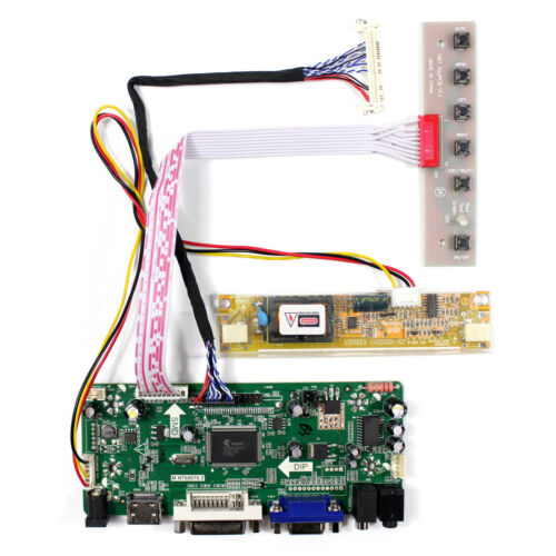 """HD MI DVI VGA Audio LCD Controller Board For 18.5"""" G185XW01 HT185WX M185XW01 LCD"""