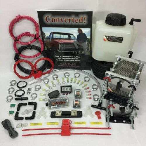 Dual 21 Plate HHO Dry Cell Kit W/ Electronics Volo Chip HydroCell Electrolysis
