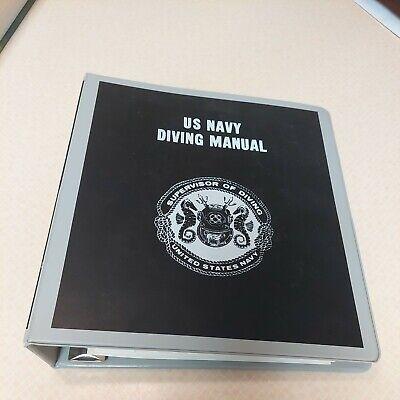 U.S.Navy Diving Manual Vol 1 Dept of the Navy, NAVSEA 0994-LP-001-9010 Book