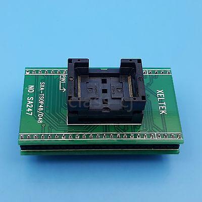 Tsop48 To Dip48 Sa247 Pitch 0.5mm Ic Programmer Adapter Chip Test Socket