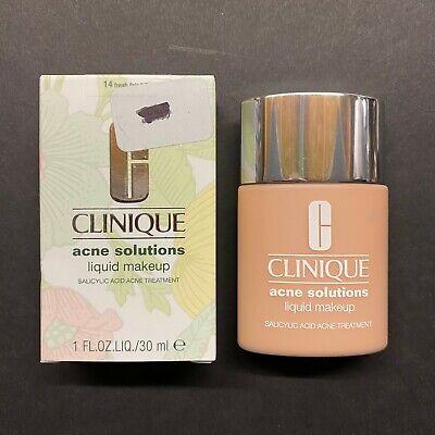 Clinique Acne Solutions Liquid Makeup 14 Fresh Fair (VF) 1oz/30ml