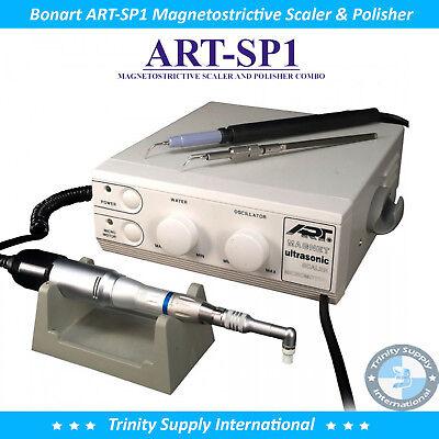 Bonart Art-sp1 Magnetostrictive Scaler And Polisher Combo For Vet New