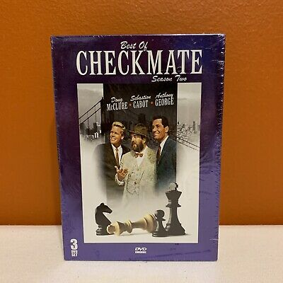 Checkmate: Best of Season Two Three Disc Set Sealed New Old