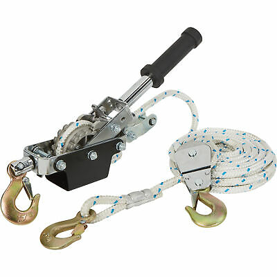 Ironton 1-ton Rope Puller With 3 Hooks -19.7ft.l