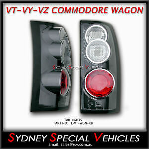 ALTEZZA TAIL LIGHTS FOR VT VX VY VZ COMMODORE WAGON BRAND NEW TAIL LAMPS PAIR