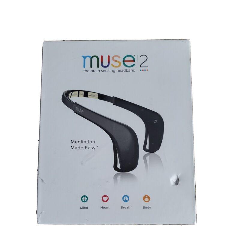 Muse 2 The Brain Sensing Headband (Black) Brand NEW! SEALED!