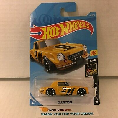 Fairlady 2000 #156 * Yellow * 2019 Hot Wheels Case G & H * ZZ4
