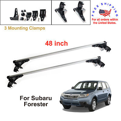 For Subaru Forester 2009 - 2011 Aluminum Car Cross Bar Cargo Luggage Roof Rack