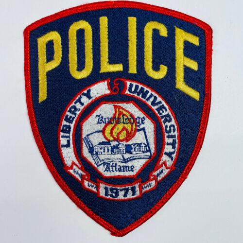 Liberty University Police Christian University Lynchburg Virginia VA Patch (A4)