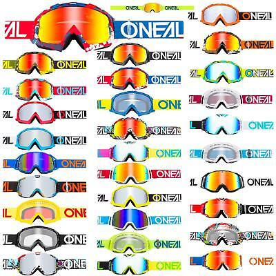 O /'Neal Crossbrille B-ZERO ORANGE anti-fog