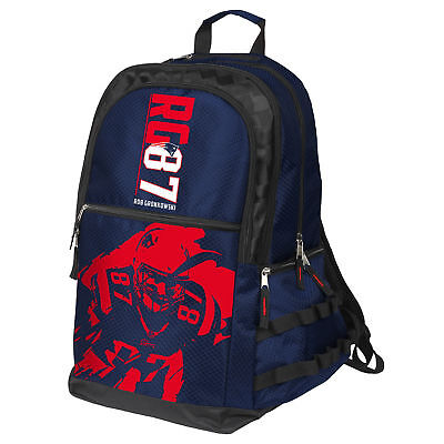 New England Patriots Gronk NFL FoCo Elite Full Size Player Backpack](Nfl New England)